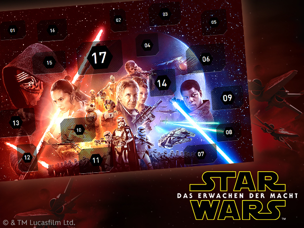 Star Wars Countdown Kalender