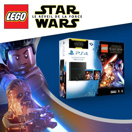 Un jeu LEGO® Star Wars™ et une PlayStation™ 4 de Sony à gagner