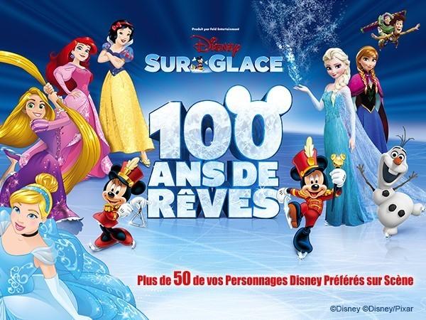 Disney Sur Glace - 100 Ans de Rêves