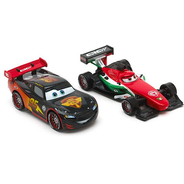 Lightning McQueen und Francesco Bernoulli im Carbon-Style