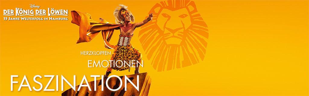 König der Löwen Musical Jubiläums Hero