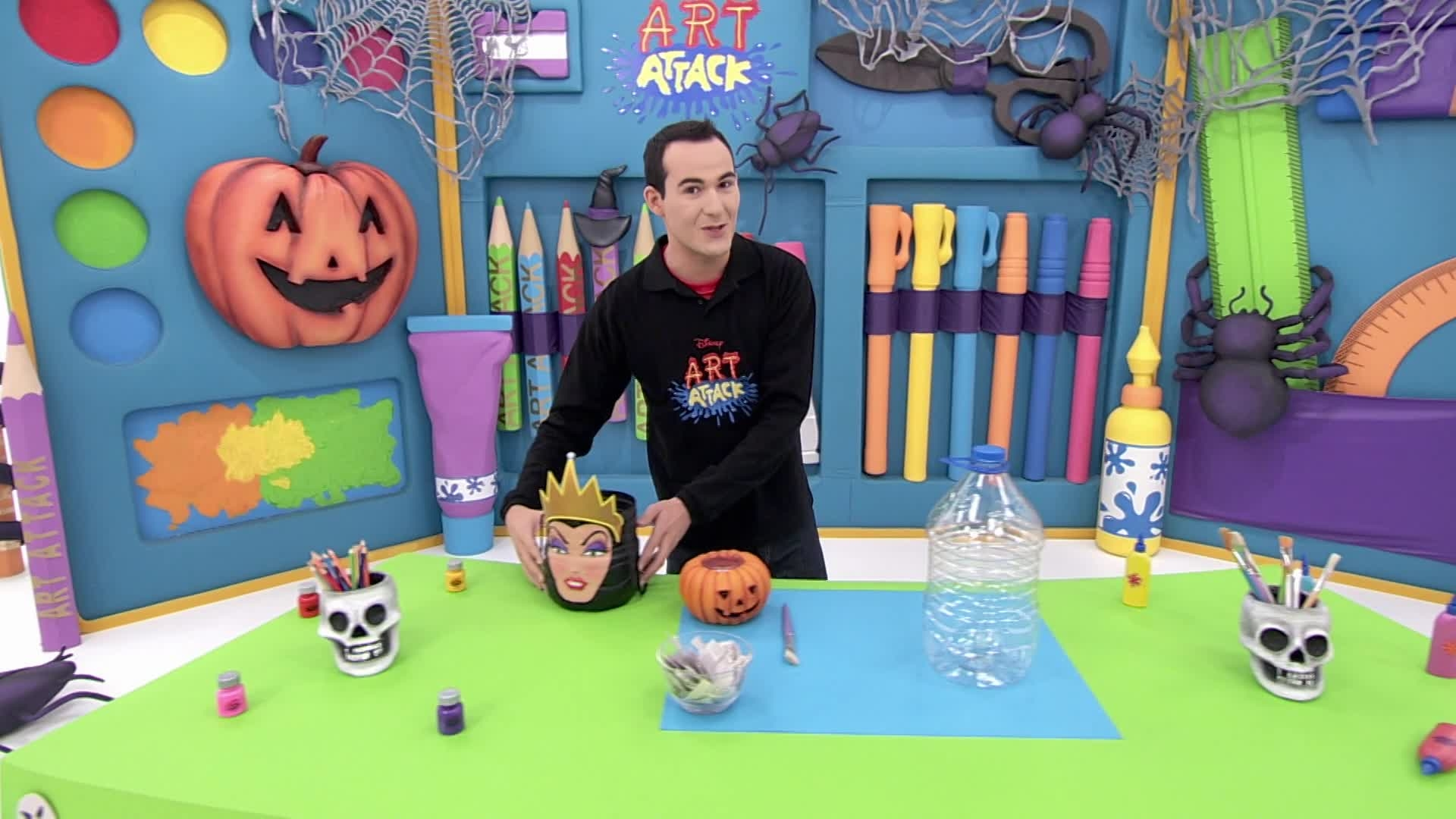 Art Attack - Le panier d'Halloween