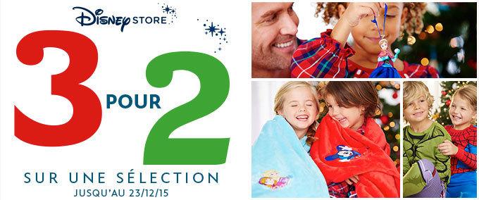 Offre Disney Store Noël