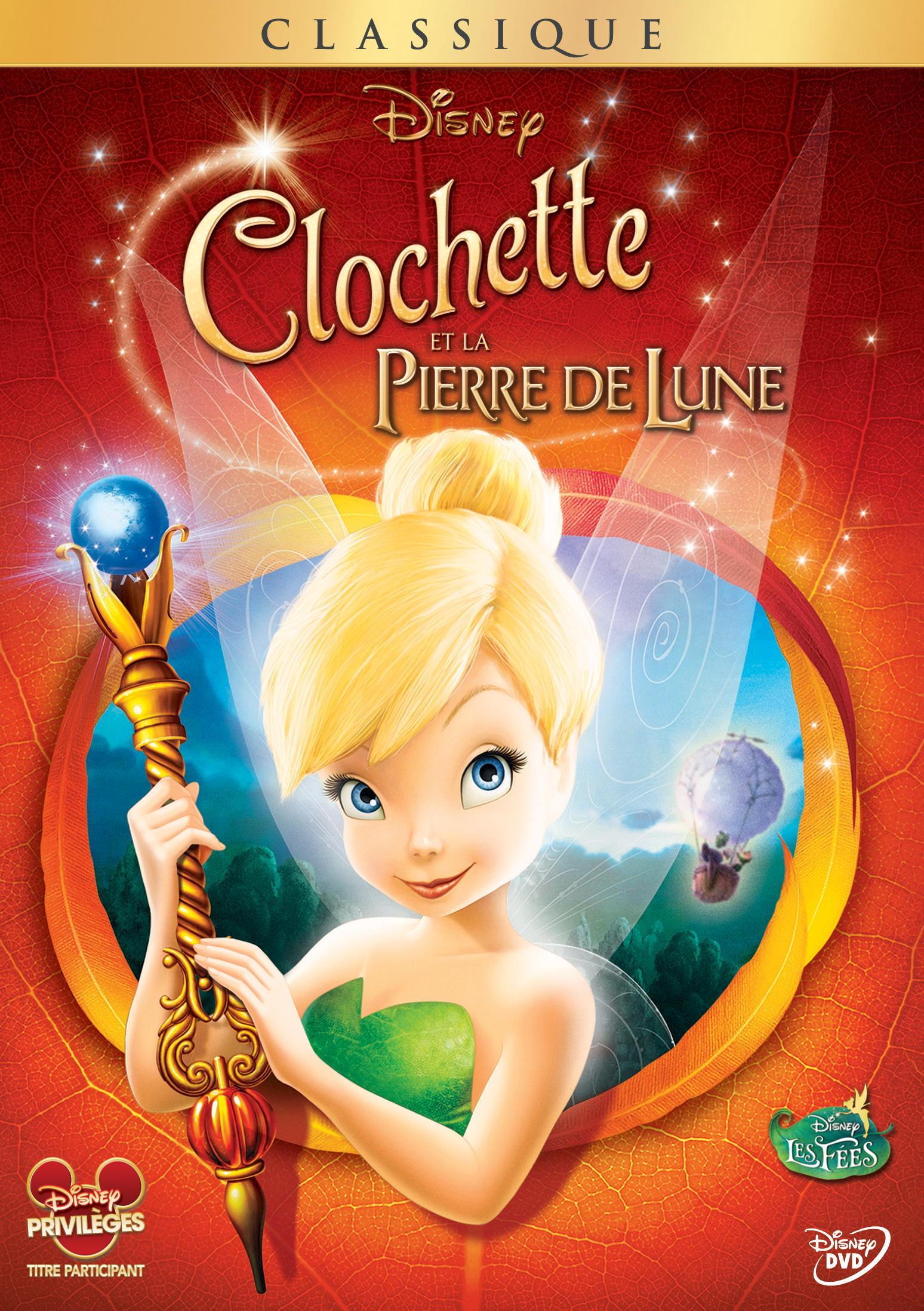 DVD Clochette et la Pierre de Lune