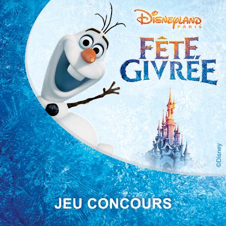 À gagner: un séjour givré à Disneyland® Paris !