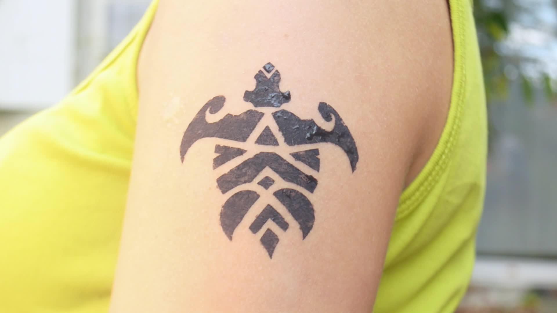 Tattoo du bout du monde avec Vaiana