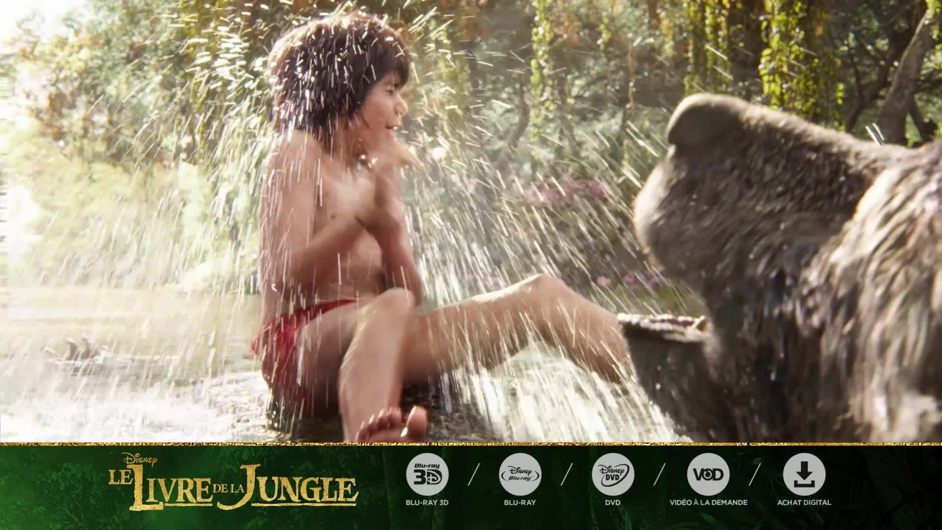 Le Livre de la Jungle - Disponible en DVD, Blu-Ray, VOD et Achat Digital