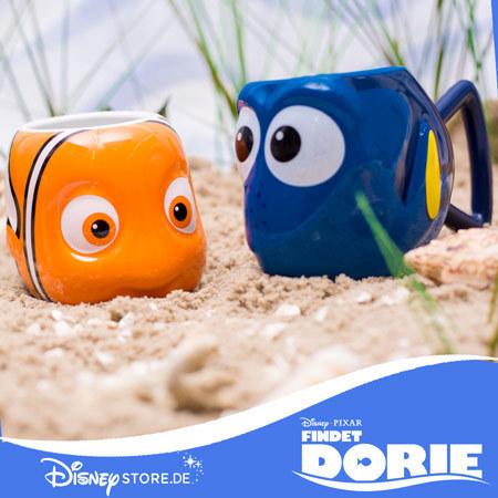 Disney Store Findet Dorie Becher