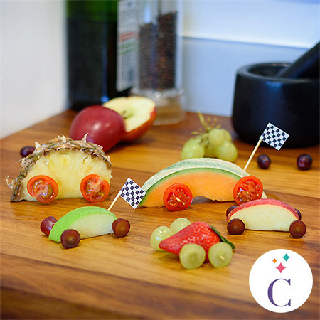inspired-collation de fruits