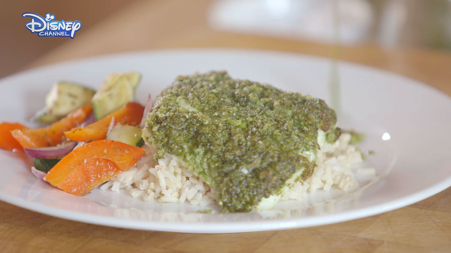 Cook-a-long: Cod with Pesto Crust & Roasted Vegetables - First Class Chefs