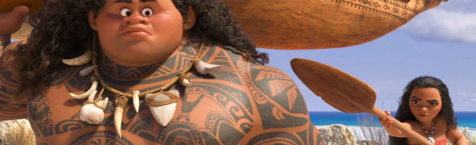 Moana Meets Maui