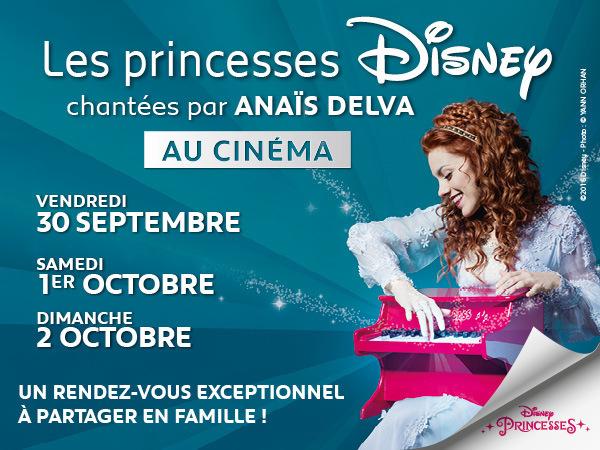 Les princesses Disney chantées par Anaïs Delva au cinéma