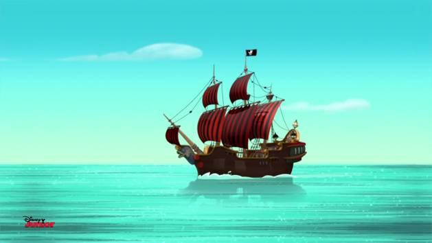 Jake et les Pirates du Pays Imaginaire - Générique