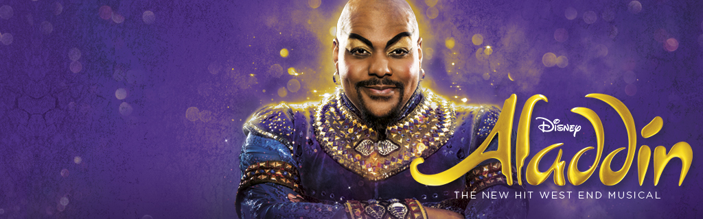 UK - homepage - Aladdin the musical
