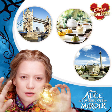 Tentez de gagner un week-end Alice de l'Autre Côté du Miroir en famille à Londres !