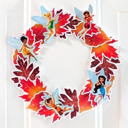 Autumn Fairies Wreath
