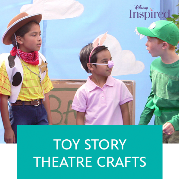 Stream Promo - Toy Story Theatre Crafts
