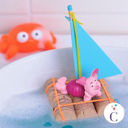 Bateau de bain Porcinet