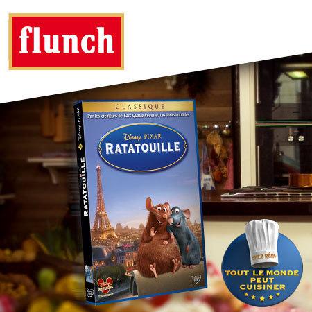 Le DVD du film Ratatouille à gagner !