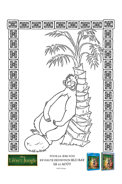 Labyrinthe le livre de la jungle disney coloriages fr - Livre de coloriage disney ...