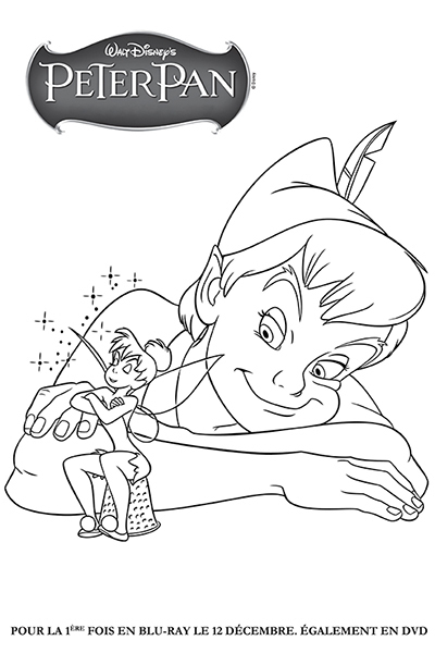 Coloriage capitaine crochet et monsieur mouche disney - Coloriages peter pan ...