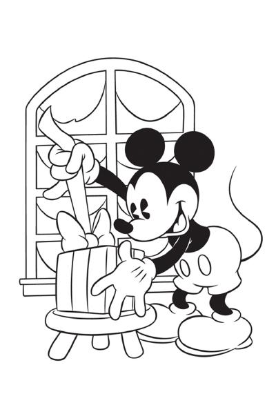 Disney coloriages des coloriages et des jeux disney imprimer - Coloriage disney noel ...