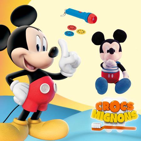 Des jouets La Maison de Mickey et plein d'autres cadeaux à gagner !