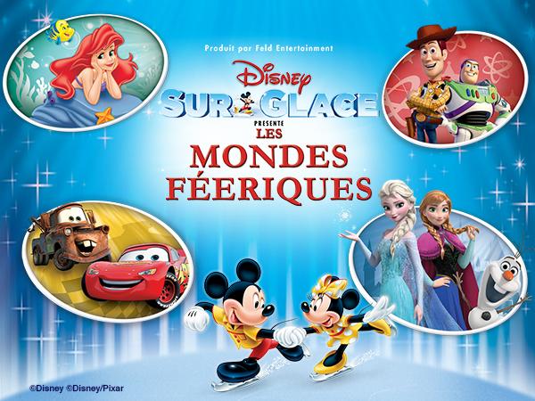 Disney sur Glace - Les Mondes Féeriques