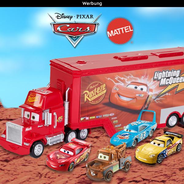 Mattel Disney Cars Gewinnspiel