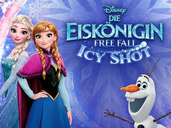 Die Eiskönigin: Free Fall Icy Shot