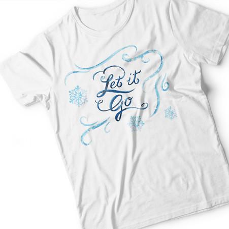 Basteln: die Eiskönigin T-Shirt von Anna, Elsa und Olaf