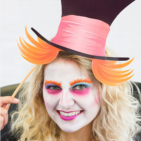 Spielen: Der verrückte Hutmacher Schminktutorial