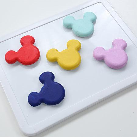 Basteln: Micky Maus Magnete