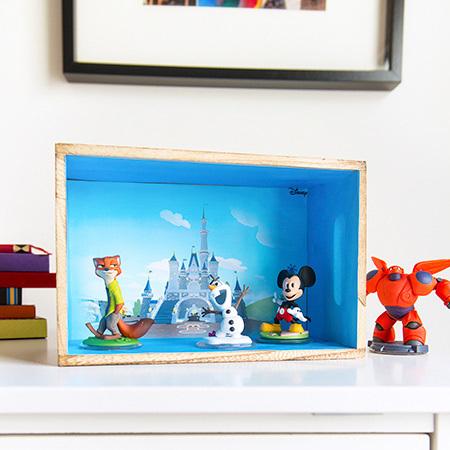 Basteln: Disney Infinity Schaukasten