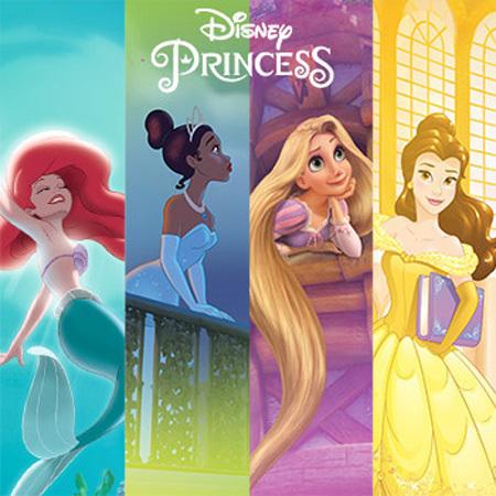 Spielen: Welche Prinzessin erkennst du?
