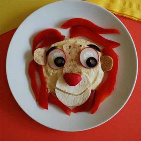 Kochen: Simba Hummus-Platte