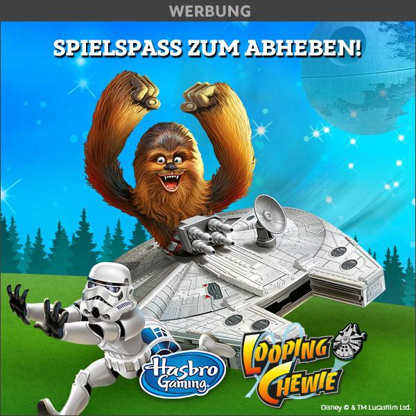 Gewinnspiel Looping Chewie von Hasbro