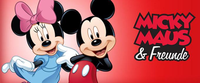 Ab zu Micky Maus!