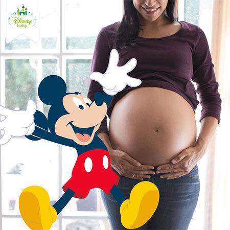 Basteln: Hurra, wir bekommen ein Baby!