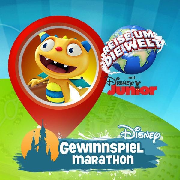 Reise um die Welt mit Disney Junior