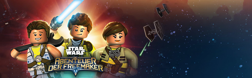 Lego Star Wars: Adventures of the Freemakers