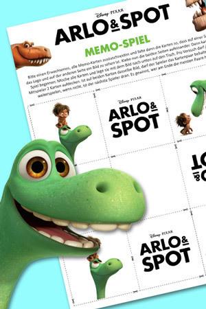 ARLO & SPOT Memo-Spiel