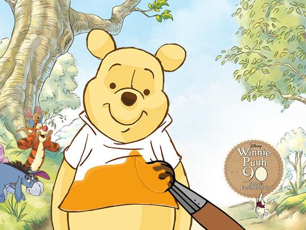 Gewinnspiel: Ein Shirt für Winnie Puuh