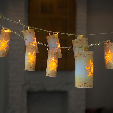 Rapunzel Night Lantern