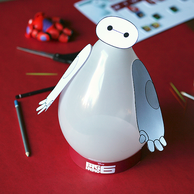 Baymax Balloon Craft