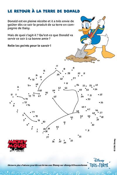 Le retour à la terre de Donald