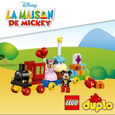 La parade d'anniversaire de Mickey et pleins d'autres cadeaux Lego Duplo à gagner !