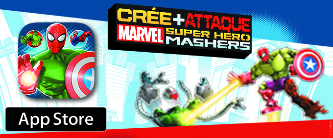 Application Marvel Super Hero Mashers