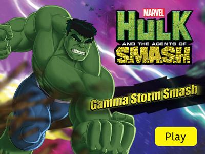 Hulk et les Agents du S.M.A.S.H. - Explosion de rayons gamma