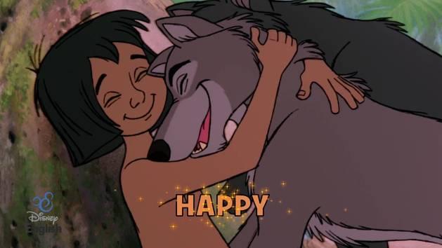 Chansons Disney English - Happy Sad Mad